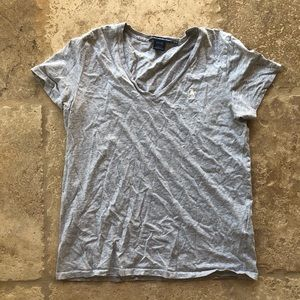 Ralph Lauren Sport Heather Gray TShirt Size Large